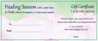Gift Certificate for Healing Sessions
